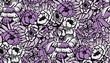 roleta: seamless flower pattern