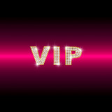 diamond VIP on red