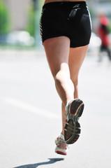marathon woman run