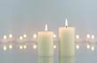 Weiße Kerzen - 15173857