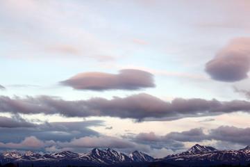 Snowy Mountain range - Alaska