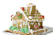 custom made gingerbread house