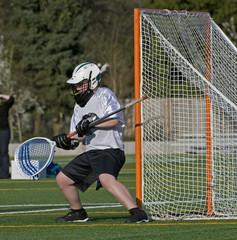 Boys lacrosse goalie 4