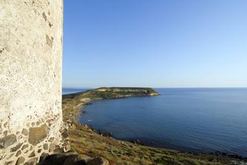 vista panoramica di una baia