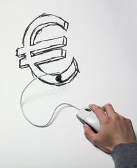 souris connectée usb euro