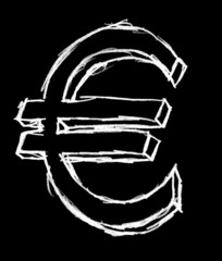 illustration euro négatif