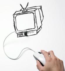 souris connexion usb film internet télévision