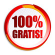 100% Gratis! Button