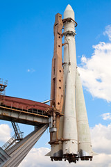 Rocket monument