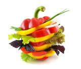 Vegetables sandwich.