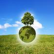 Rettung der Welt Konzept
