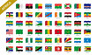 2/4 African flags