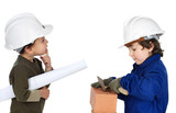 Worker and supervisor poster