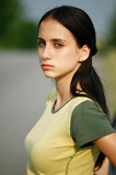 Young beauty girl