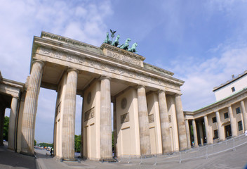 Fisheye: Brandenburger Tor
