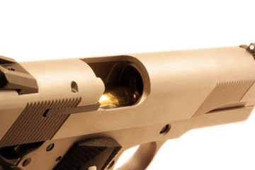 Chambered .45 bullet