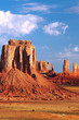 Leinwanddruck Bild - Monument Valley