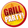 Grillparty Button