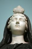 Busto en el museo de Nápoles poster