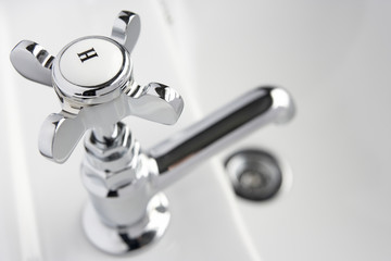 Hot Tap On Hand Basin