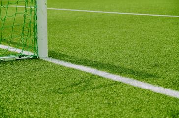 Fußball Tor Ausschnitt & Strafraum 2