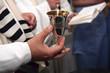 Leinwanddruck Bild - Jewish Wedding Ceremony