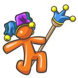 Design Mascot Joker Jester Clown poster