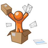 Design Mascot Going Postal poster