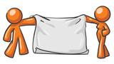 Design Mascot Blank Canvas Banner poster