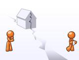 Design Mascot House Divided poster