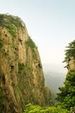 valli e picchi naturali in un fantastico scenario, huangshan poster