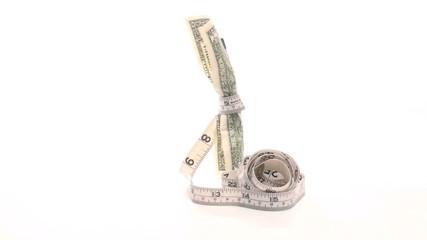 Shrinking value of the US dollar - HD