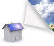 Maison photovoltaique écologie
