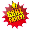 Grillparty! Button