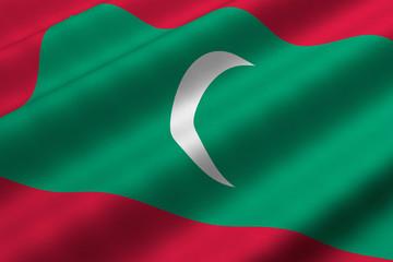 Maldivian Flag