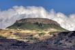 Tafelberg und Wolken - La Gomera - HDR