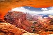 Leinwandbild Motiv Heavenly view of world
