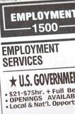 Unemployment News poster