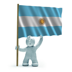 Argentinien Flagge argentina flag