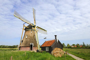 Dutch windmill - Groot-Ammers
