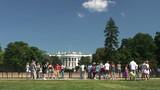 Visitors to the White House, Washington, DC, Time Lapse poster