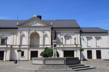 Theaterplatz in Klaipeda