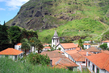 Le village de Sao Vicente