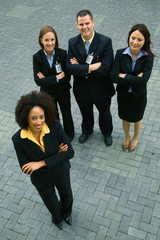 African American Businesswoman As Leader