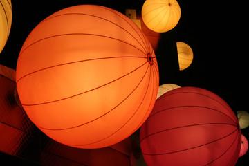 shining balloon