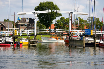 Harbor of Harderwijk, the Neherlands