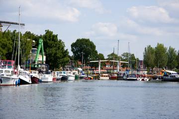 Harbor of Harderwijk, the Neherlands