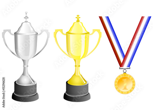 reward (medal and cup) vector