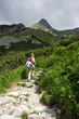Hiking in Tatra Mountains, Slovakia