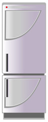 Refrigerator, vector illustration